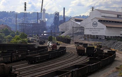 US Steel to restart construction of idled plant, crediting