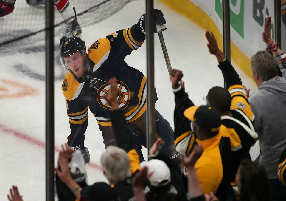 Chris Wagner has two goals for the Bruins this postseason.