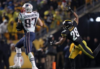 aae451eed Patriots tight end Rob Gronkowski has terrorized the Steelers in his career.