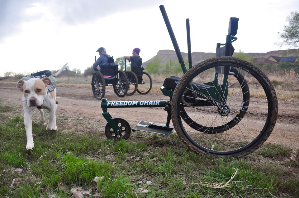 The GRIT Freedom Chair out in Colorado.