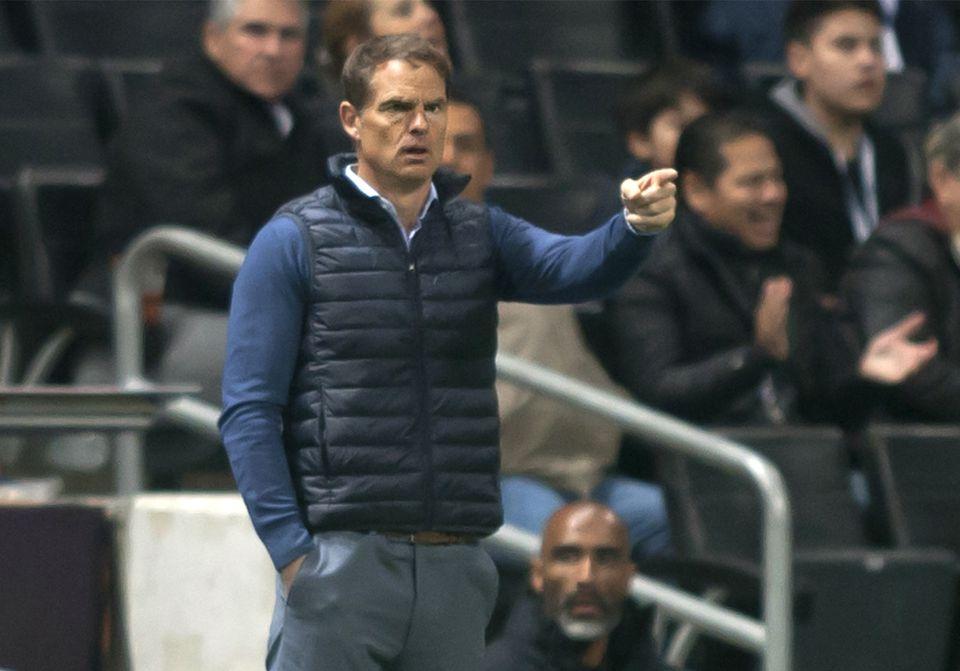Atlanta is 0-2-2 under new coach Frank De Boer.