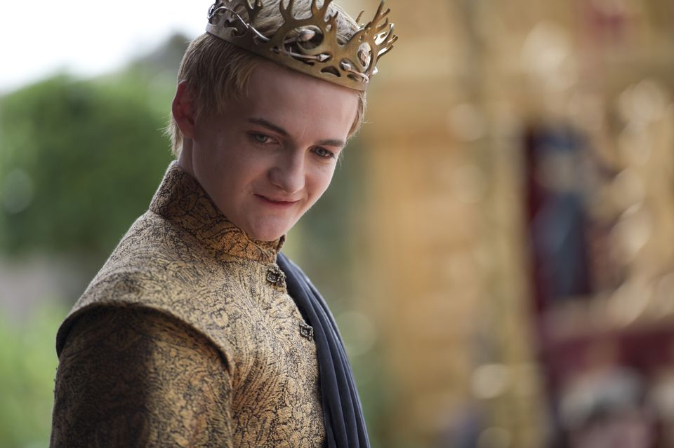 Jack Gleeson (pictured) as King Joffrey.