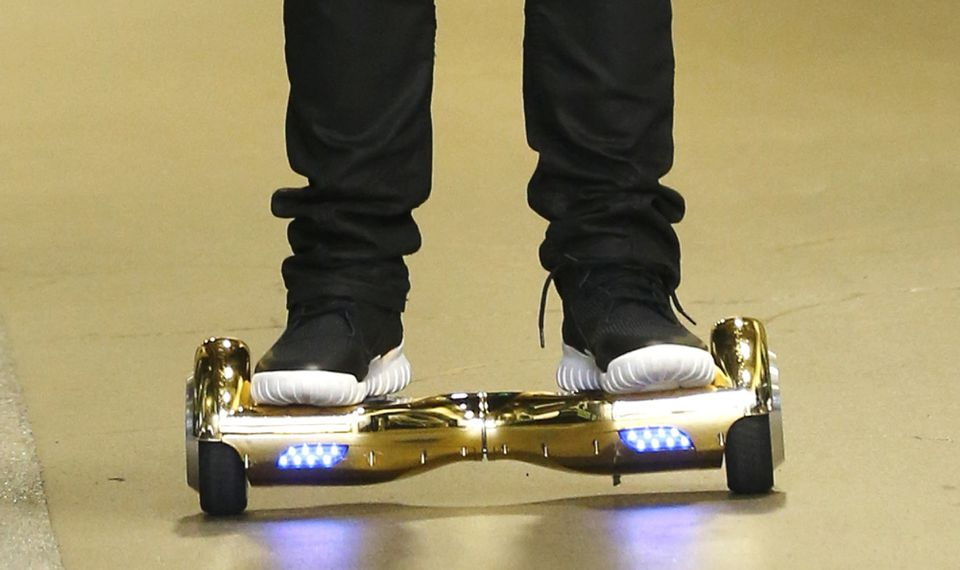 Hoverboards were best-selling gifts during the 2015 Christmas season.