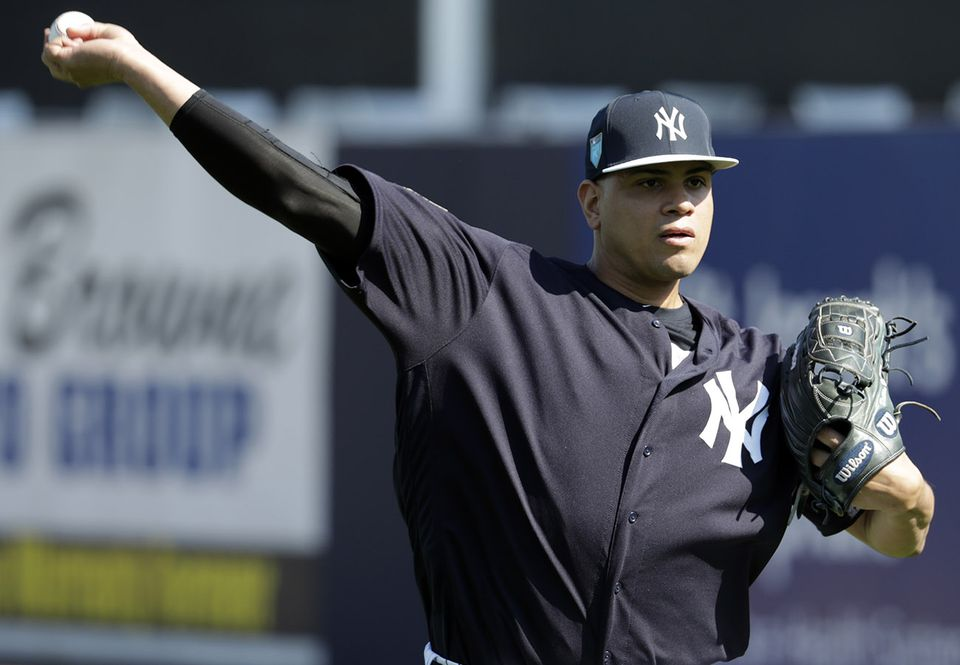 Yankees reliever Dellin Betances has something up his sleeve: He's one of the few players using in-game wearable technology.