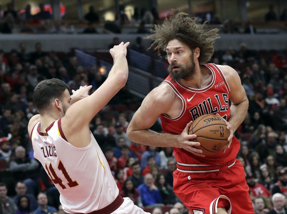 Bulls center Robin Lopez could be a poor man's Aron Baynes with the Celtics.