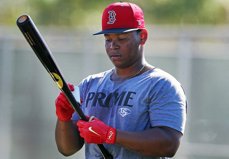 After a disappointing 2018 in which he battled through injuries, 22-year-old Rafael Devers could be on the verge of a breakout in 2019.