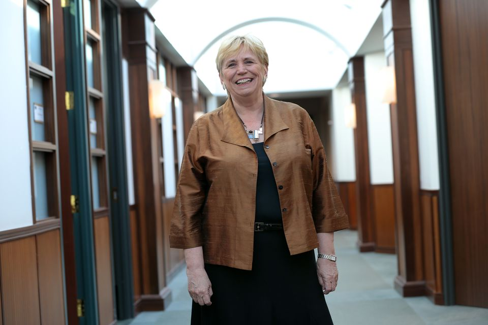 Suffolk University President Margaret McKenna.