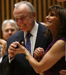 William Bratton pledged to reform the department's community relations.