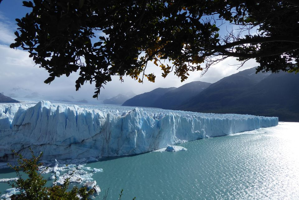 Perito Moreno Glacier in Los Glaciares National Park.