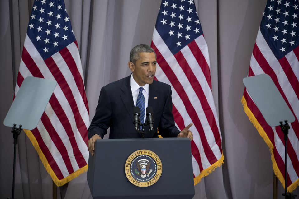 President Obama discussed the Iran nuclear deal at American University in Washington.