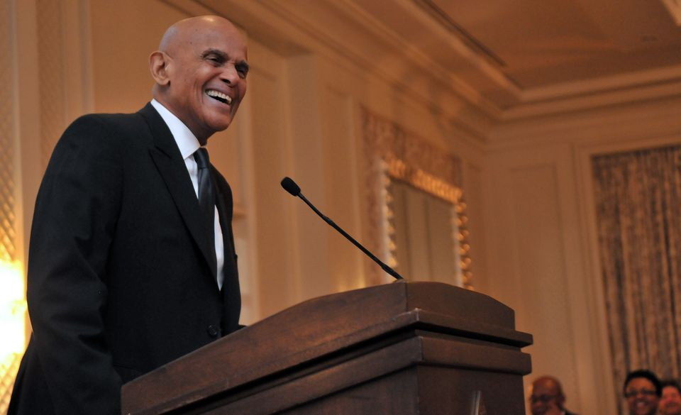 Harry Belafonte pictured in a 2014 file photo.
