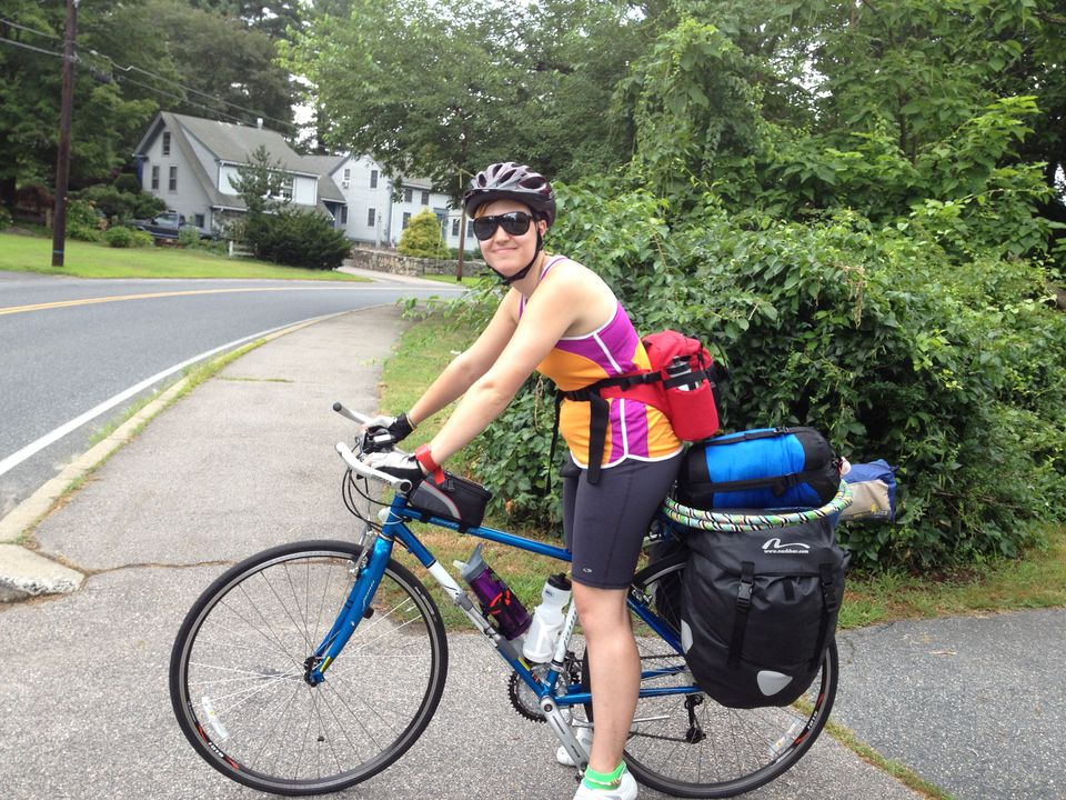 Emilee Gagnon had left her Holliston home to ride her bike alone to San Francisco. She was hit by a truck in Ohio.