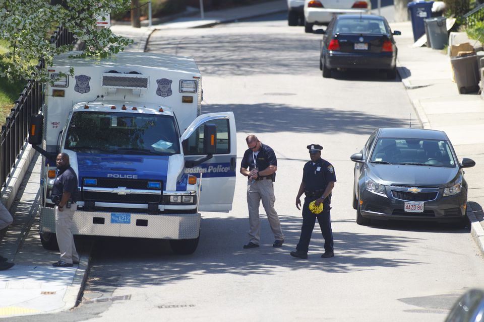 A man was shot to death on Winthrop Street early Thursday.