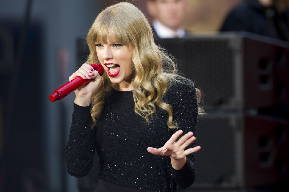 """Taylor Swift performed on ABC's """"Good Morning America"""" on Tuesday. (Photo by Charles Sykes/Invision/AP)"""