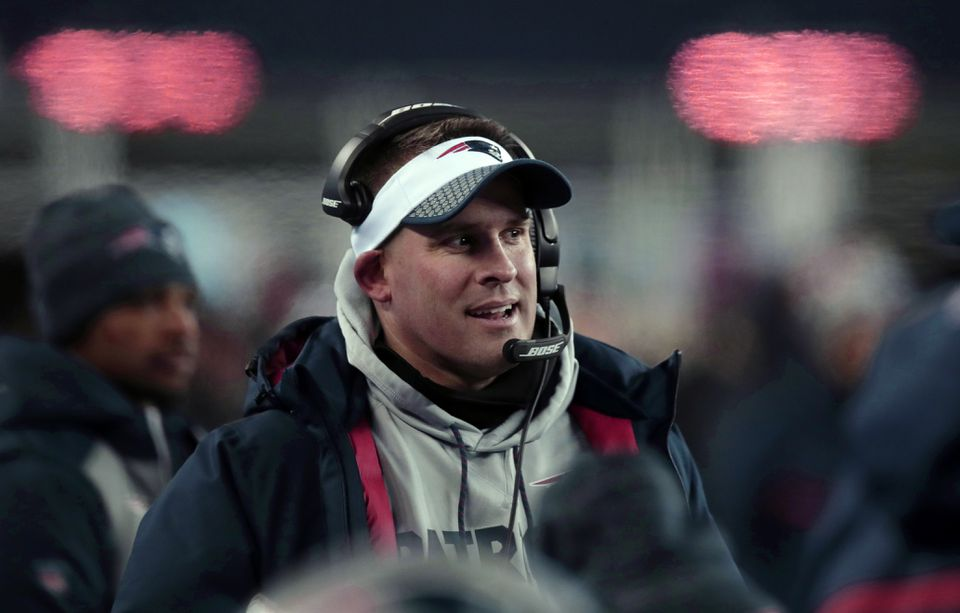 The Colts will be McDaniels's second head-coaching gig.