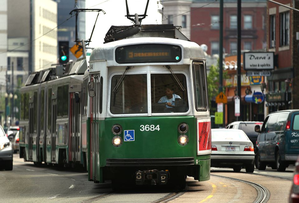 The proposal calls for the MBTA to replace most of its fleet of Green Line trolleys.