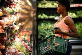 Charlotte Pascel shopped for produce at Vincente's.