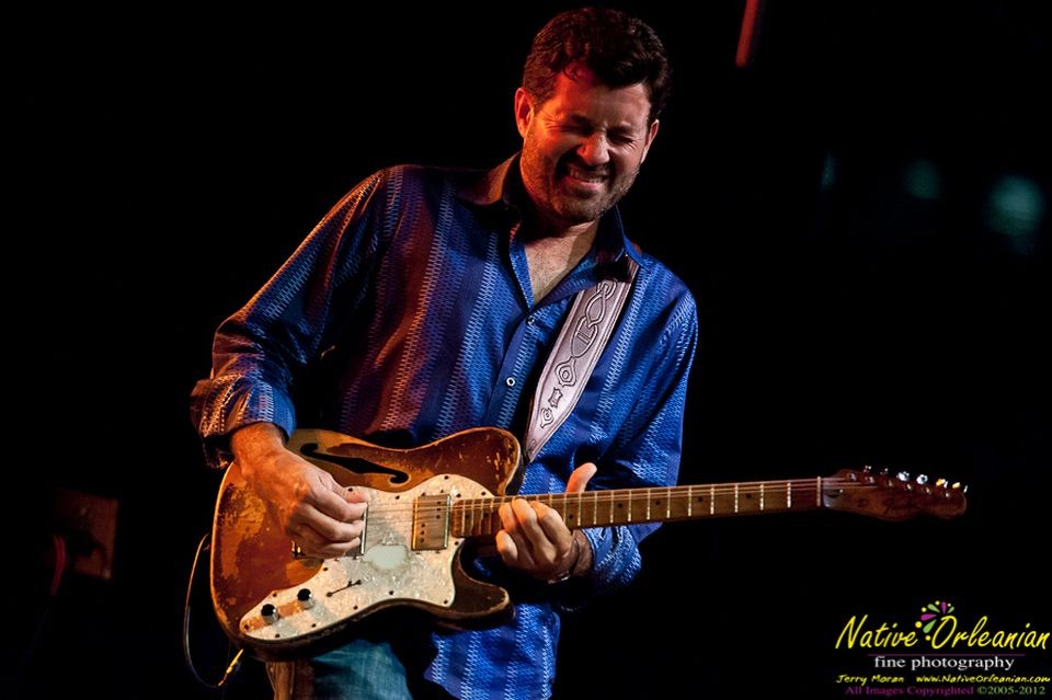 Tab Benoit plays the Cabot in Beverly on March 8.