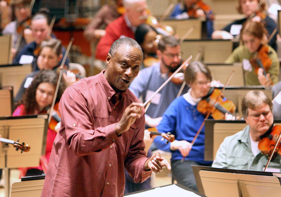 BSO youth and family concerts conductor Thomas Wilkins makes his subscription-series debut at Symphony Hall on Saturday.