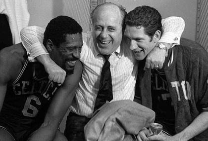 Bob Cousy and the Celtics family have lost a great friend in