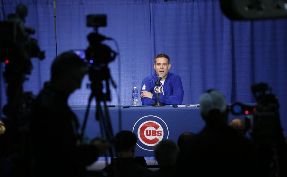 Theo Epstein essentially took two key players away from the Cardinals in Jason Heyward and John Lackey.