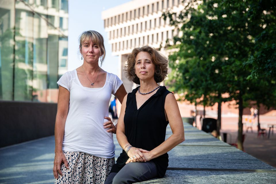 Annie Brewster (left) and Nancy Marks founded The Opioid Project: Changing Perceptions Through Art and Storytelling.