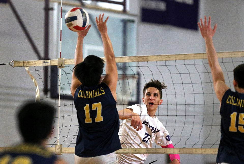 As his volleyball IQ increases, Bogdan Ivanov becomes even harder for opposing teams to handle.