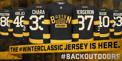 372900f2113 Bruins and Canadiens weave history into Winter Classic jerseys - The ...