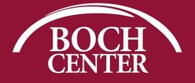The logo for the Boch Center.
