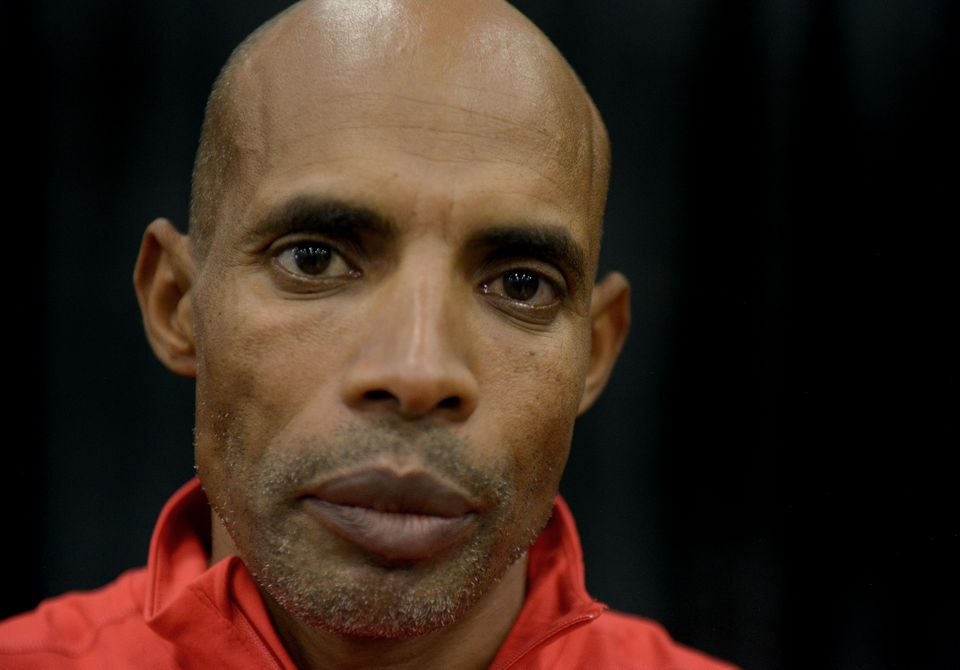 """""""I relied on the cheering crowds and the victims' angels to give me strength,"""" Meb Keflezighi writes of his Boston Marathon win."""