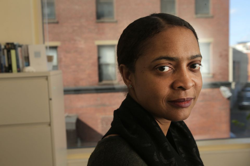 """I think that my role . . . is to demystify poetry for people who may not know quite what to think about it,"" says Danielle Legros Georges."