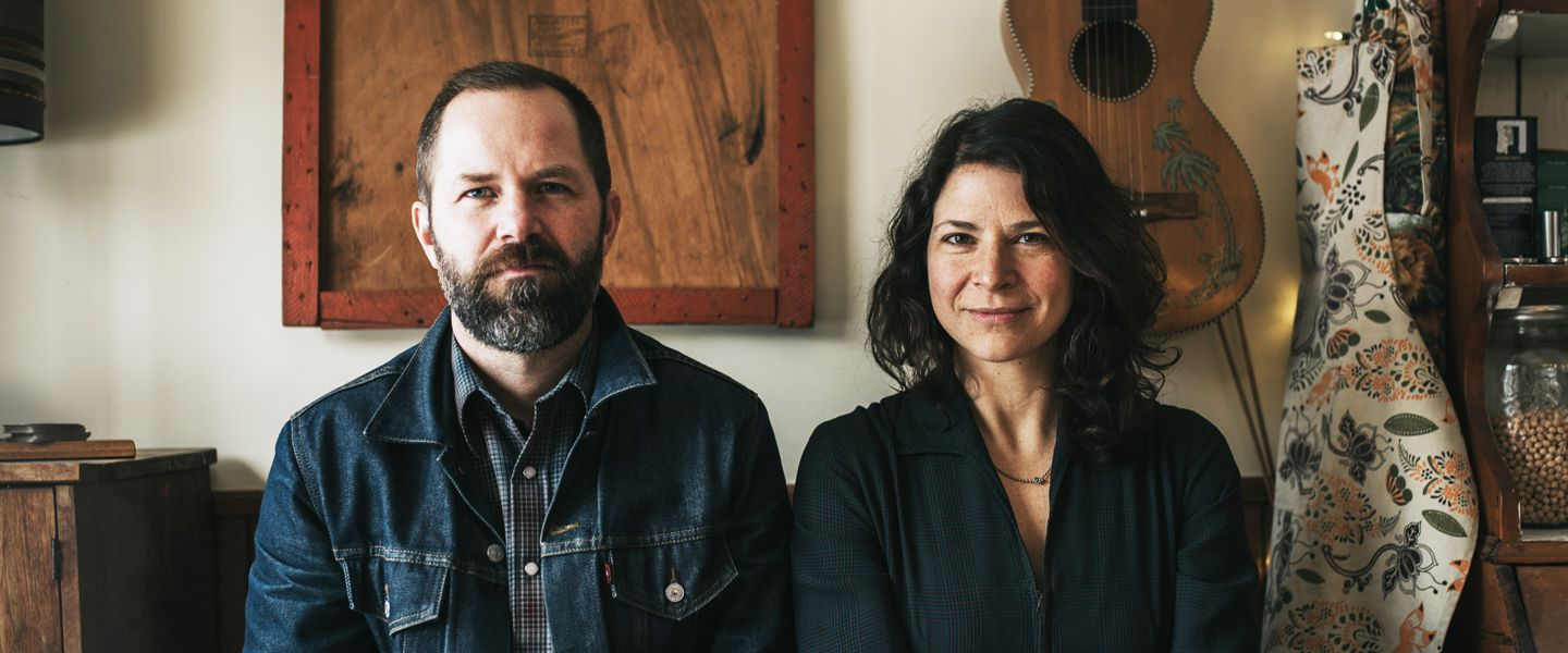 Jeffrey Foucault and Kris Delmhorst play ONCE Ballroom Oct. 21.
