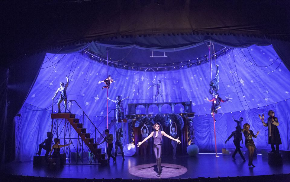 """The American Repertory Theater 40th-year revival of the Tony Award-winning """"Pippin,"""" helmed by ART artistic director Diane Paulus, is circus-inspired."""