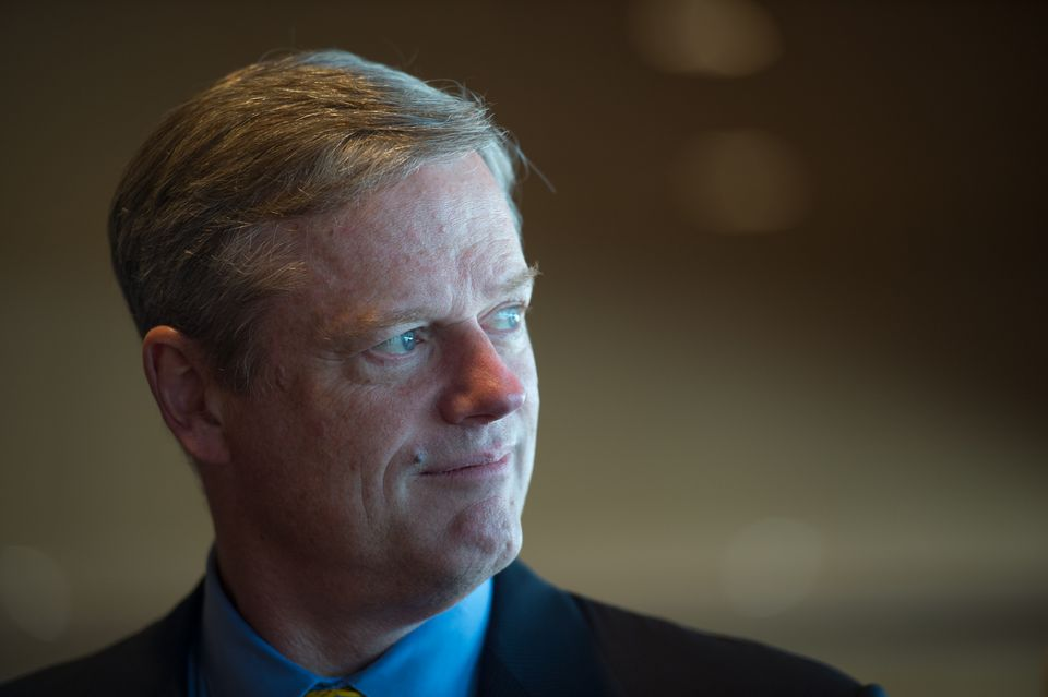 The proposal by Governor Charlie Baker (above) comes amid a hotly contested bid by Baker and other advocates to expand charter schools in Massachusetts.