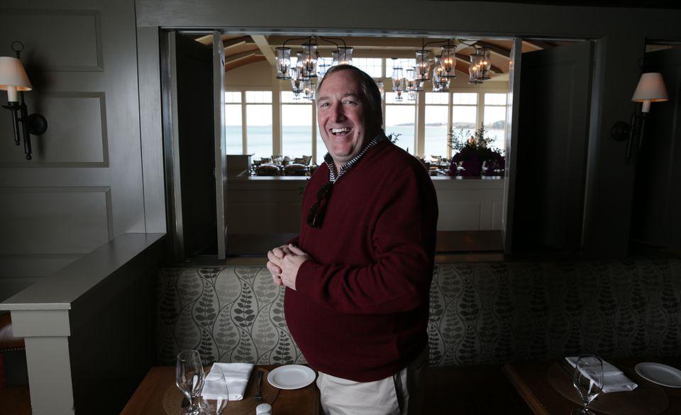 Mark Novota, managing partner at Wequassett Resort and Golf Club, welcomes employee ideas.