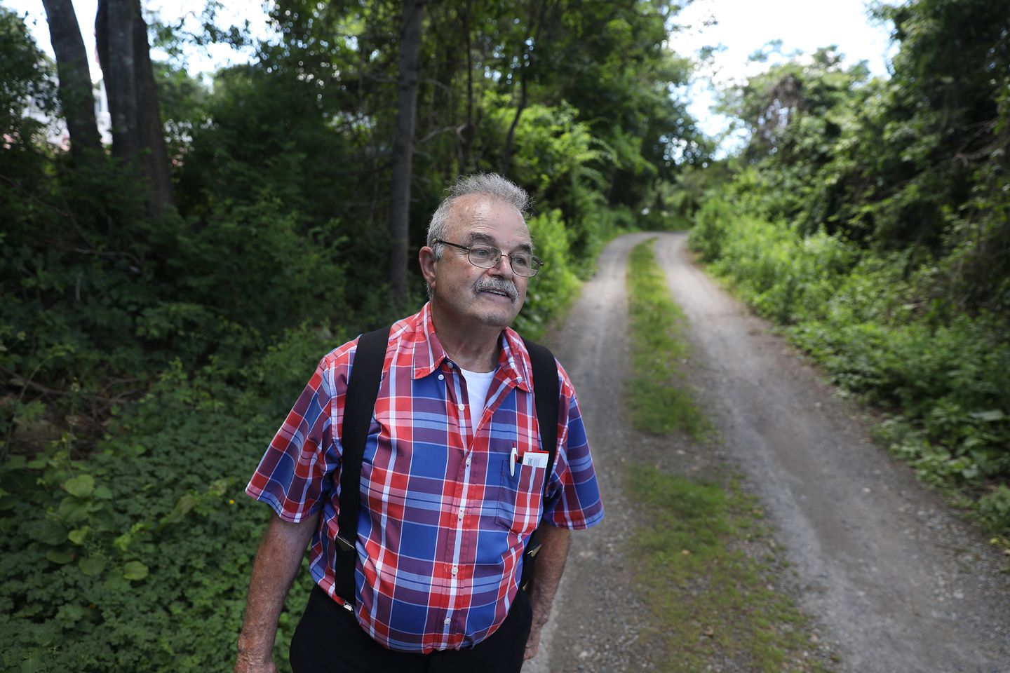 Joseph McDonald has been a champion of allowing the public onto the beach at Old Rexhame Terrace, angering many of his neighbors.