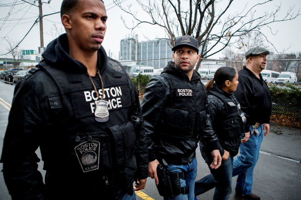 "Boston Police officers, ranging from gang and fugitive units to beat cops, are the subject of TNT's ""Boston's Finest."""