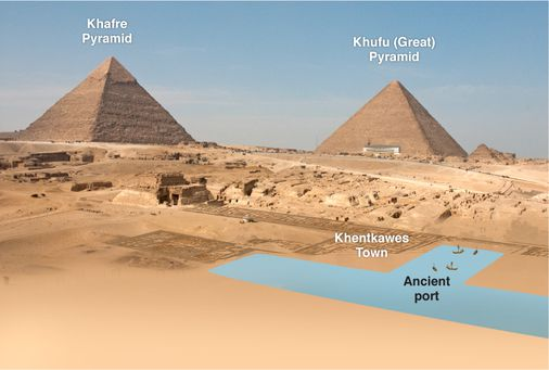 Did The Egyptians Create A Canal And A Port To Bring Stone