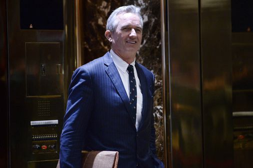 Trump Meets With Vaccine Skeptic >> Trump asks Robert F. Kennedy Jr., a vaccine skeptic, to ...