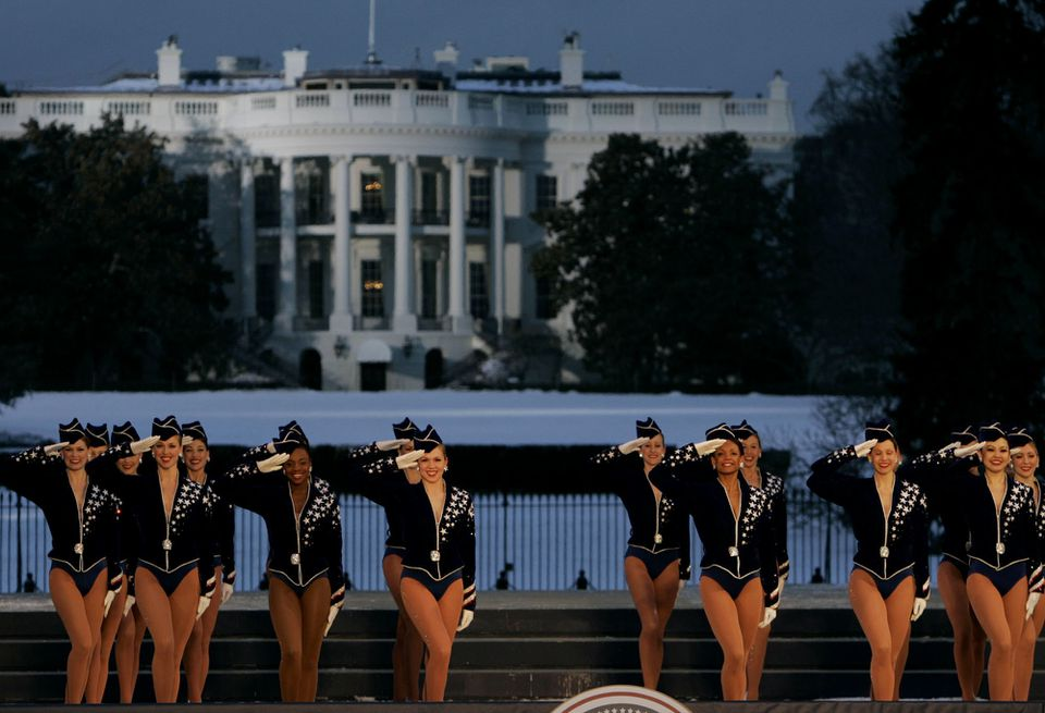 The Rockettes performed in Washington in 2005.