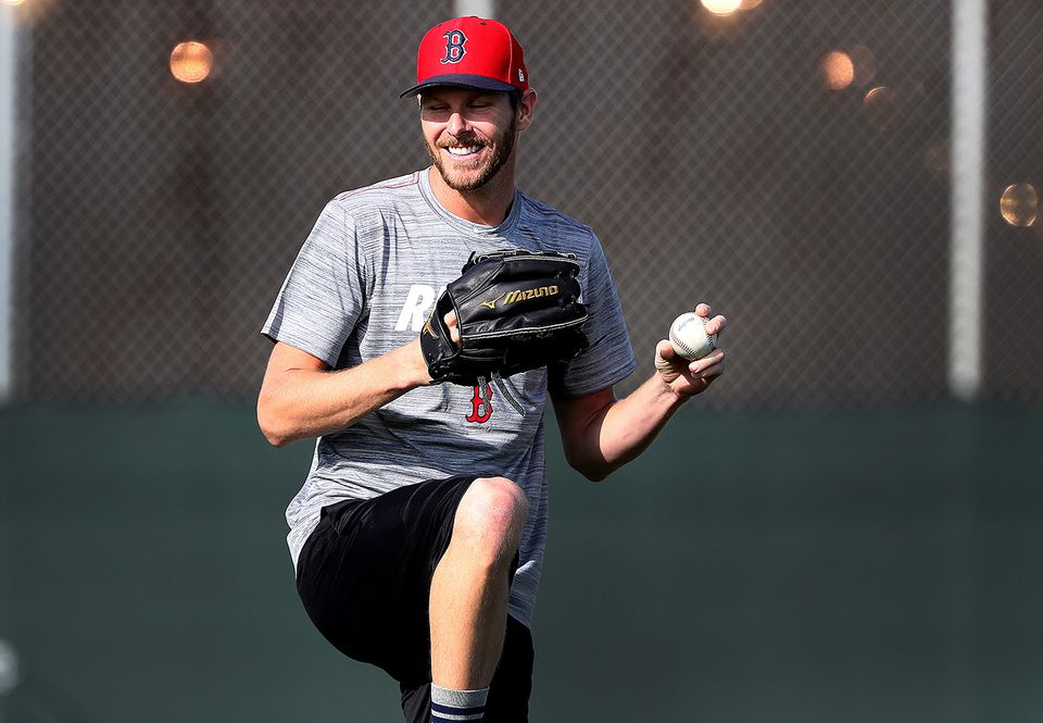 """""""We've got another championship to go for,"""" said Chris Sale. """"That's where my head is at.''"""