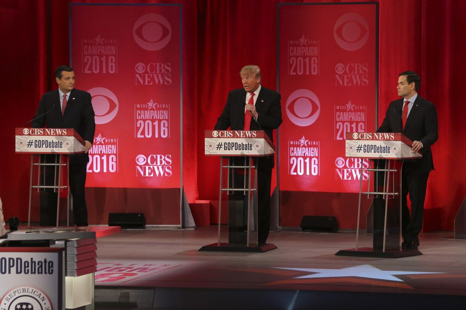 Republican candidates debated in Greenville, S.C., on Saturday.