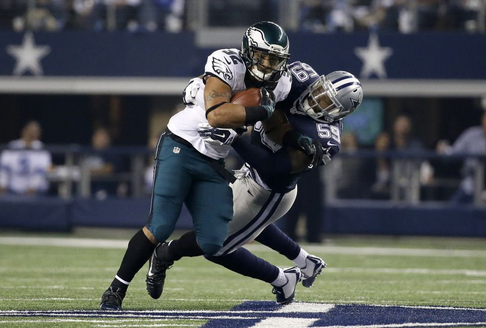 The Eagles blasted Cowboys, 33-10, on Thanksgiving.