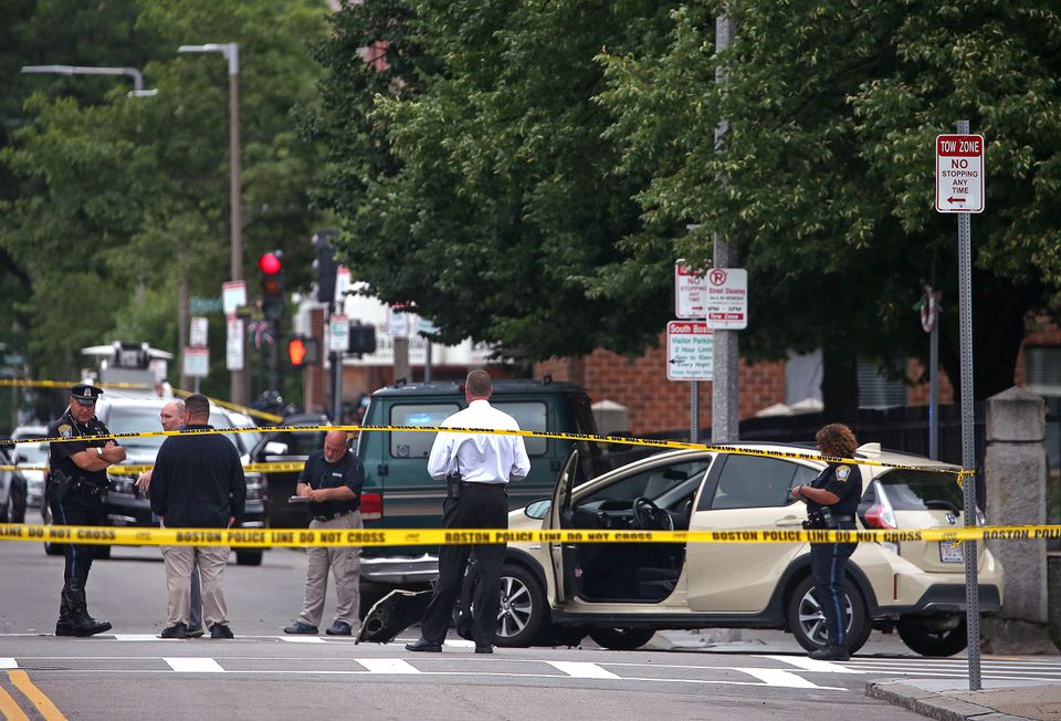 A 3-year-old boy died after a chain-reaction crash in South Boston.