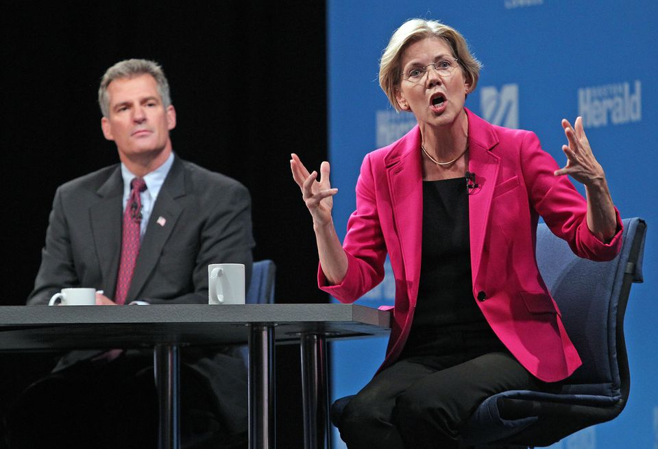 When Warren was running for the Senate in 2012, then-Senator Scott Brown focused on her heritage.