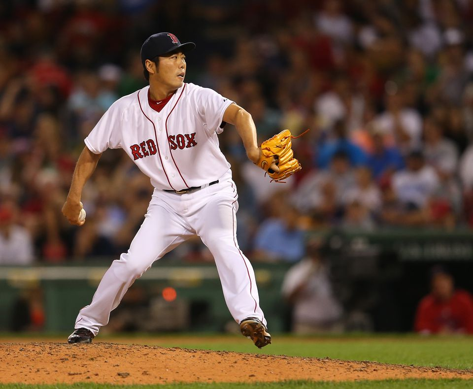 Koji Uehara has a 2.79 in 29 innings pitched.
