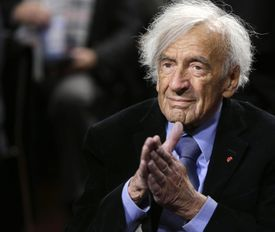 """Nobel Peace Laureate Elie Wiesel participated in a roundtable discussion on """"The Meaning of Never Again: Guarding Against a Nuclear Iran"""" in Washington D.C."""