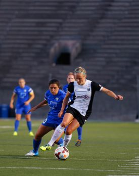 Started in 2013, the Boston Breakers are part of the National Women's Soccer League. They play at Harvard Stadium in Allston, where average home game attendance was 2,437 for the latest full season.