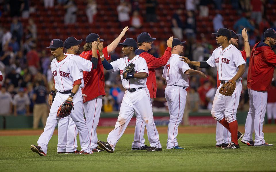 The Red Sox are 44-55 through 99 games this season.