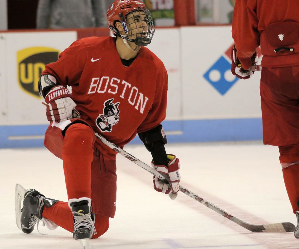 Jordan Greenway is surprisingly nimble and has an excellent skill set for a player his size.